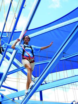 MOSI will offer $5 admission on Saturday. Bring some extra money for the ropes course -- it's not discounted.