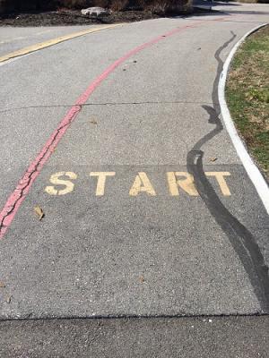 Hummel Park, Start Line