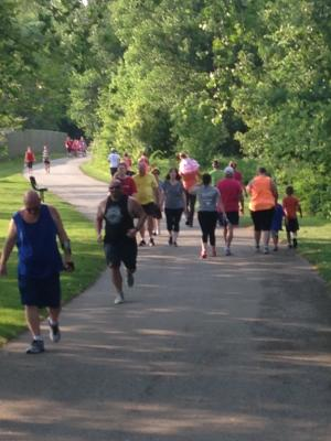The Summer Fun Run provides great exercise at your own pace while exploring local parks.