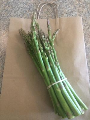 Fresh Asparagus from a local farm!