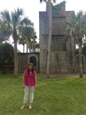 Nora at Atalaya Castle