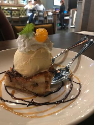 Fado bread pudding
