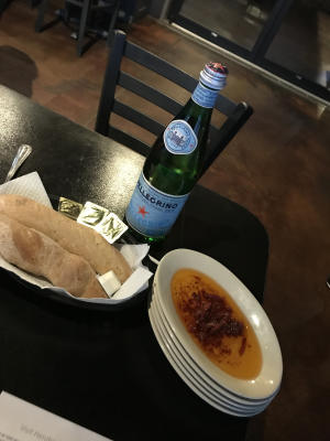 Nonna's by So italian, italian restaurant, plainfield, bread and oil