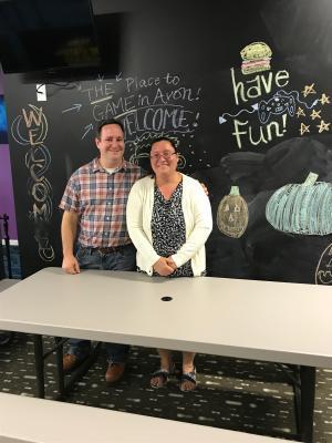 Virtual Reality, Virtual Galaxy cafe, Jim Brahos, Dawn Brahos
