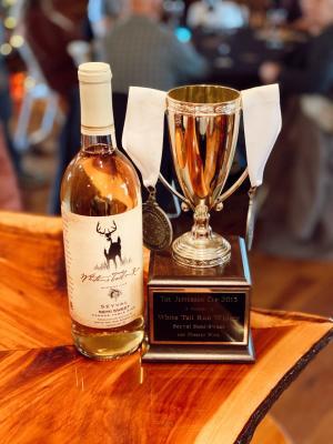 White Tail Run Winery Award Winning Seval Wine in Edgerton, KS