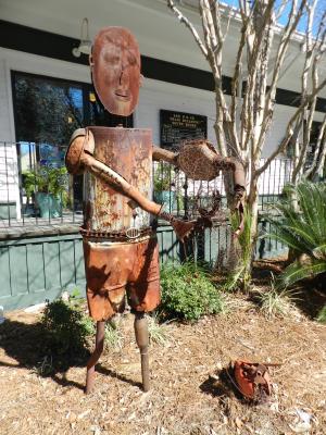Ocean Springs Public Art: Chamber Sculpture Garden