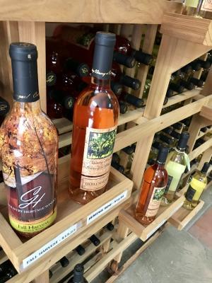 country heritage, winery, wine, wine bottles