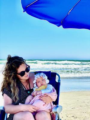 Nora with baby Eleanor