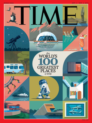 TIME - World's Greatest Places 2019 cover