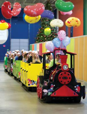 Jelly Belly Train Tour