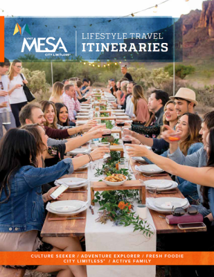 2018 Visit Mesa Itineraries - ENGLISH_Cover