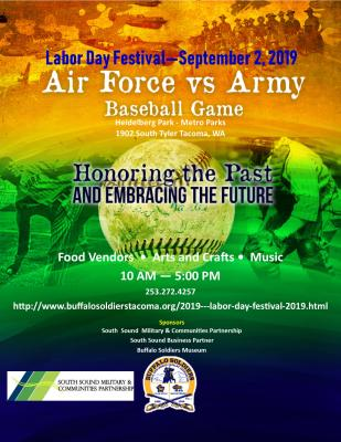 Buffalo Soldiers Museum Baseball Game