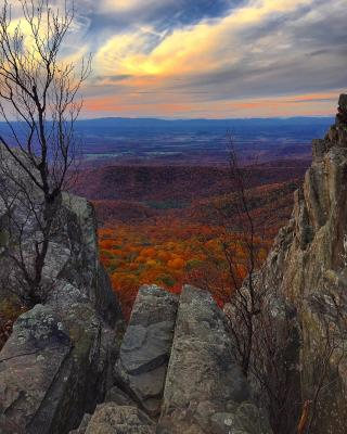 Humpback Rocks Sunset