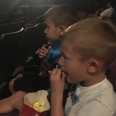 We love seeing movies at the Royal Theater!
