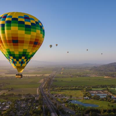 Hot Air Balloons in Napa Valley