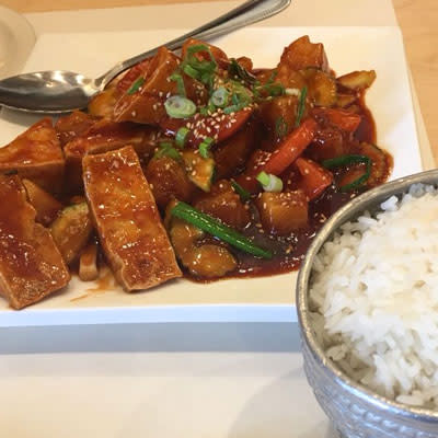Sweet and Sour Tofu Vegan