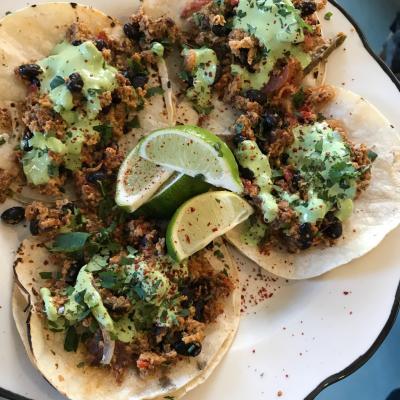 Tacos at Cosecha Cocina