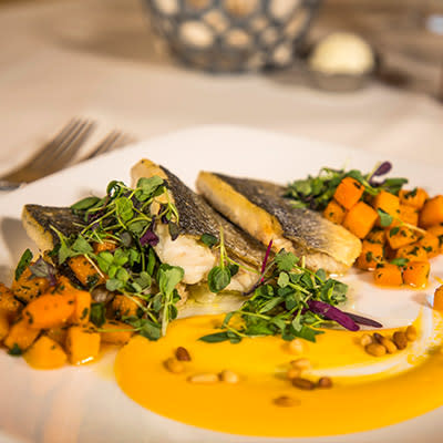 Seared Mediterranean Sea Bass