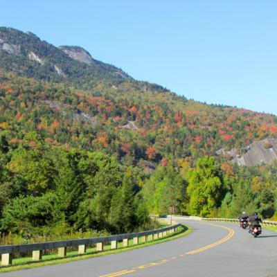 Parkway Fall Scenery