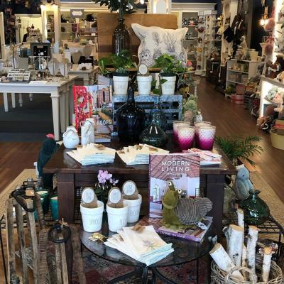 An array of products on display at Bliss Life + Style