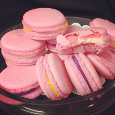 Pink French Macaroons from Our CupCakery