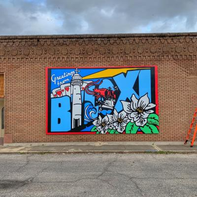 Welcome to Biloxi Mural