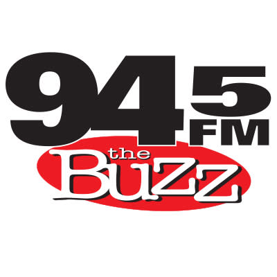 94.5 FM The Buzz Logo
