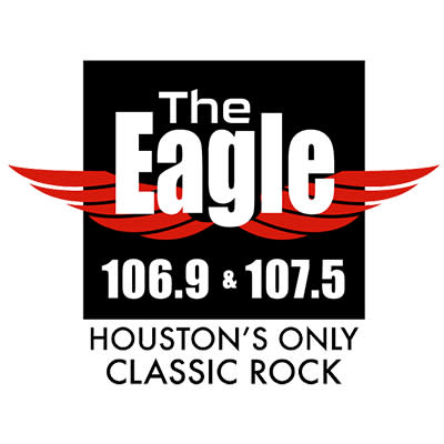 The Eagle 106.9 | 107.5 Logo