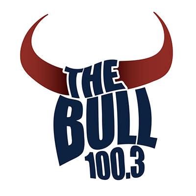 100.3 The Bull Logo