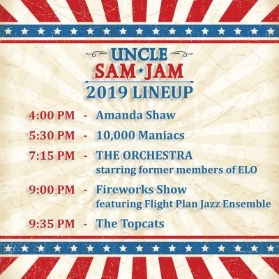 Uncle Sam Jam lineup