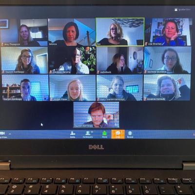 #ykastrong staff meeting