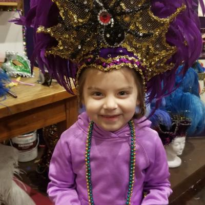 Mardi Gras Headdress