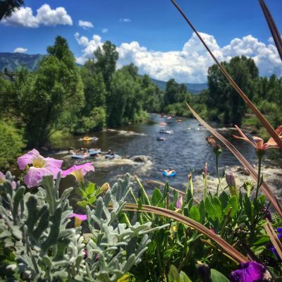 Views of the Yampa River from the Core Trail