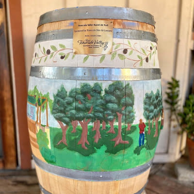 Barrel Art Trail