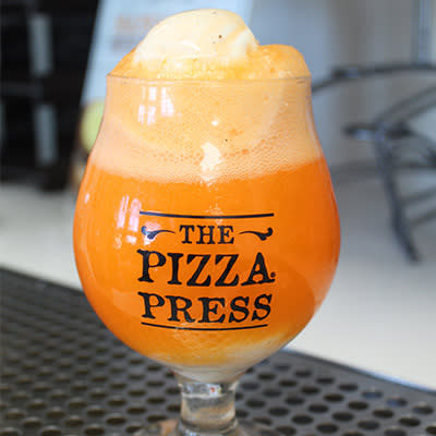 Pizza Press - Orange Soda Float