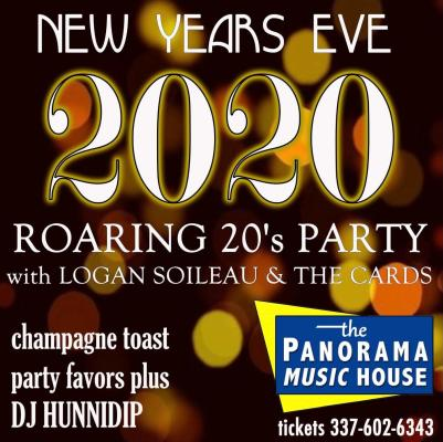 Panorama Music House NYE Flyer