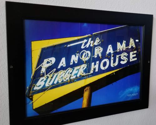 Panorama Burger House Sign