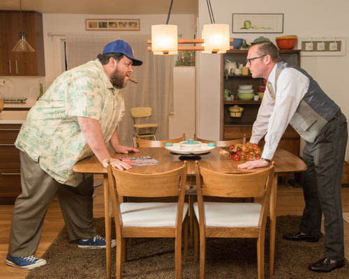 The Odd Couple at Hale Center Theater Orem