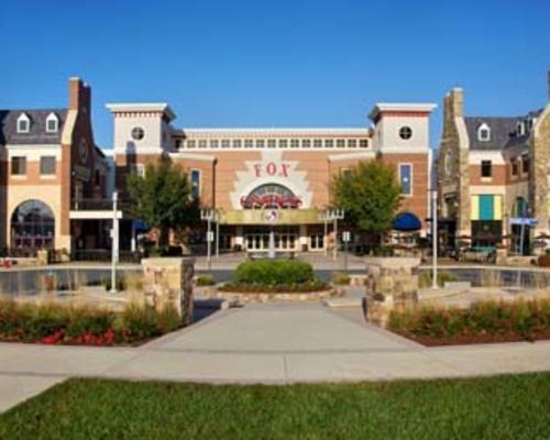 Brambleton Town Center and plaza