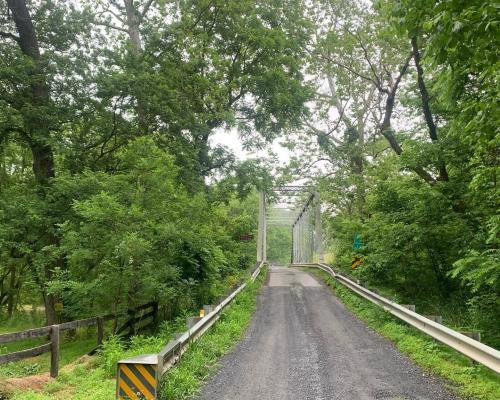 Taylorstown rural road near Lovettsville VA