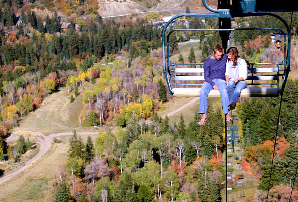 Utah Valley Fall Bucket List Activities- Sundance Lift Ride