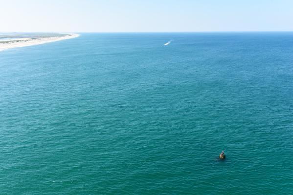 The Oriental Beach Aerial View