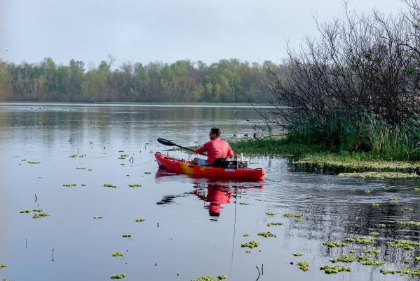 Kayaking at Cullinan Park