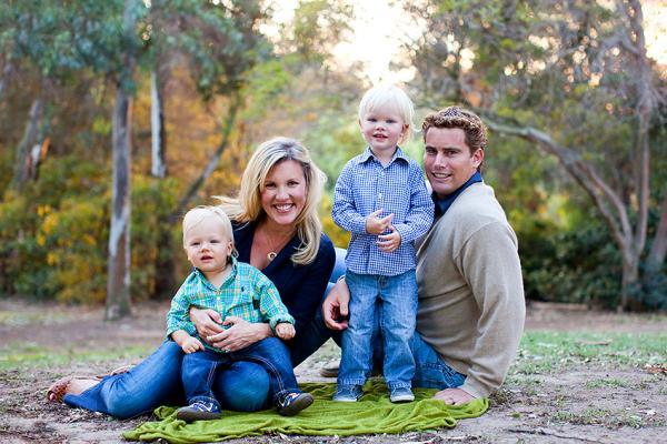 Huntington Central Park Family Photoshoot by Kristin Eldridge