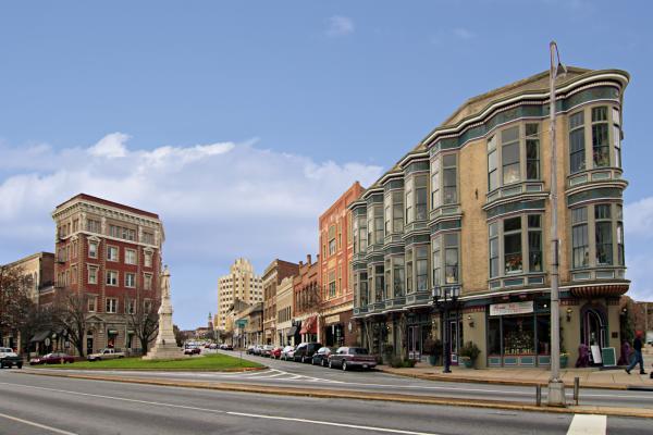 Cotton Avenue Downtown