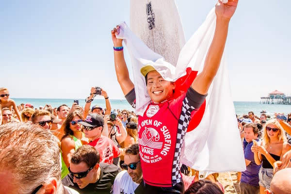 515bbb0e89 Vans is entering their fourth year as host of the US Open of Surfing