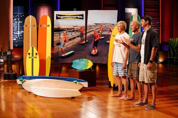 Hamboards on ABC's Shark Tank