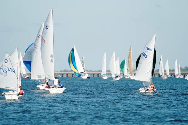 Regatta on Lake Pontchartrain