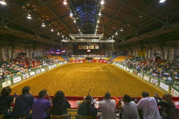 Stockyards Championship Rodeo arena