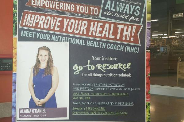 Natural Grocers offers a health coach to keep you on track!